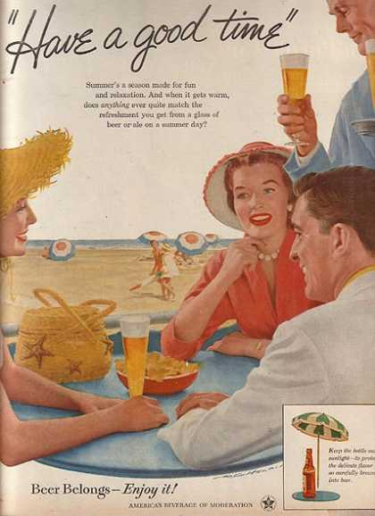 America's Beverage of Moderation (1956)