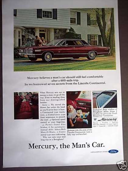 Mercury Brogham a Mans Car Photo (1967)