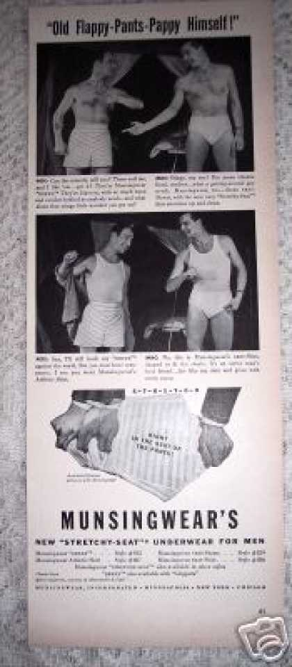Munsingwear for Men Flappy Pants Pappy (1941)