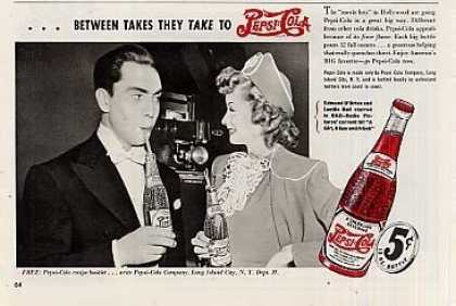 Pepsi-cola Ad Edmond O'brien/lucille Ball (1941)