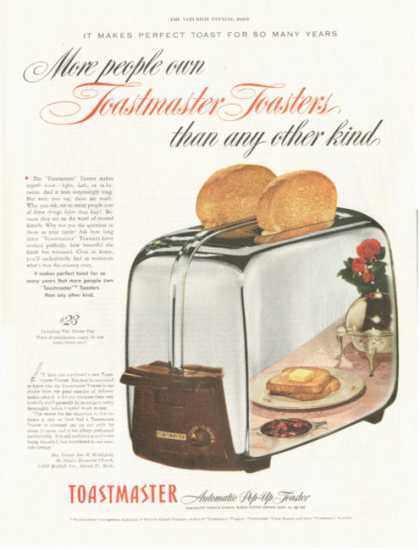 Toastmaster Chrome Toaster (1952)