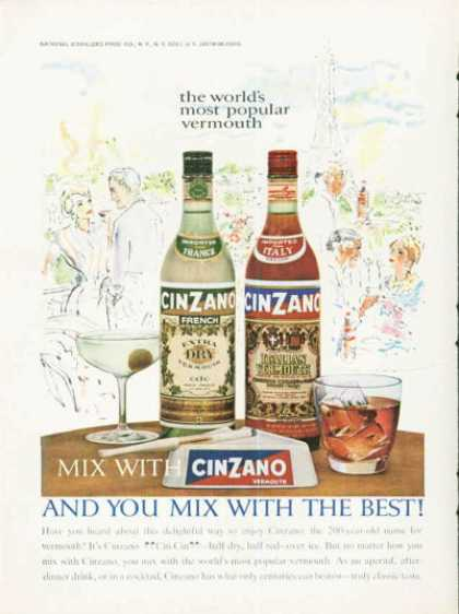 Cinzano Vermouth Bottle (1961)