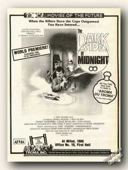 The Dark Side of Midnight Movie Rare (1986)