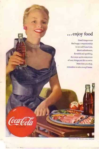 Coke Enjoy Food (1952)
