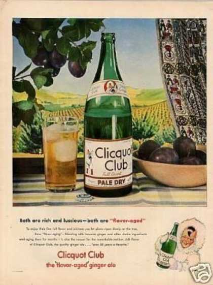 Clicquot Club Ginger Ale (1946)