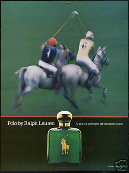 Polo Horse Photo Ralph Lauren Cologne (1981)
