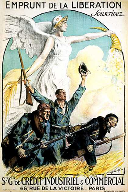 Emprunt de la Liberation, French war poster