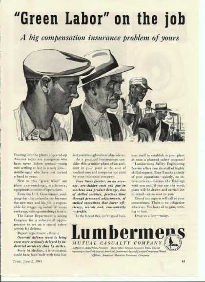 Lumbermens Mutual Casualty Co (1941)