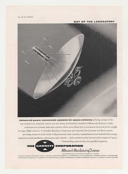 Garrett AiResearch Space Vehicle Power System (1961)
