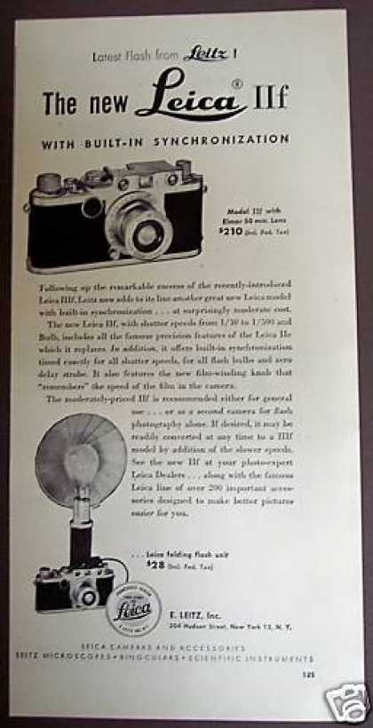 Original Leica Iif Camera (1951)
