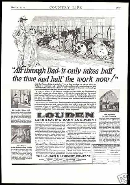 Louden Farm Barn Equipment Machinery Co (1927)