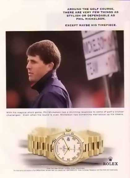 Mickelson, Phil Rolex – Stylish Or Dependable… (1999)