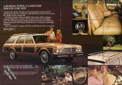 Chrysler Lebaron Town Country Wagon Impressive (1979)