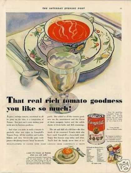 Campbell's Tomato Soup (1932)