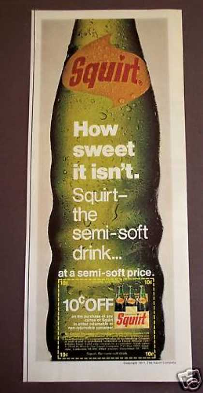 Squirt the Semi-soft Drink Beverage (1971)