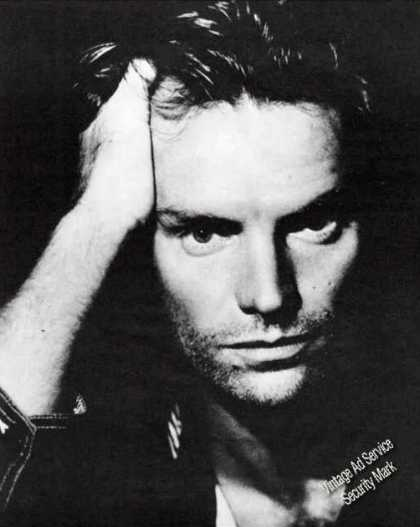 Sting Large Magazine Photo Feature (1987)