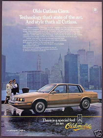 Oldsmobile Cutlass Ciera New York Twin Towers (1985)