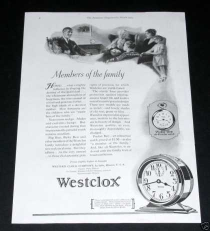 Westclox, Pocket Ben (1929)
