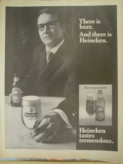 Heineken Beer. There is beer and then there is Heineken (1970)