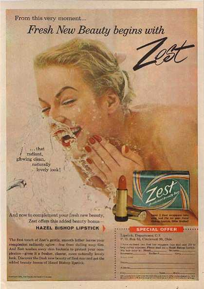 Zest's Deodorant Beauty Bar (1959)