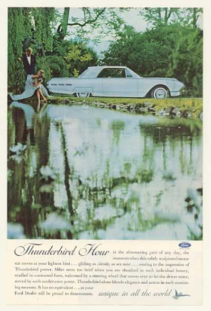Ford Thunderbird Hour Couple at Lake (1962)