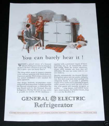 General Electric Refrigerat (1929)