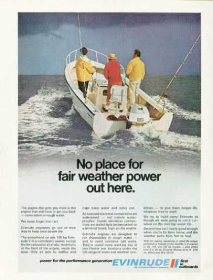 Evinrude Outboard Boat Motor (1971)