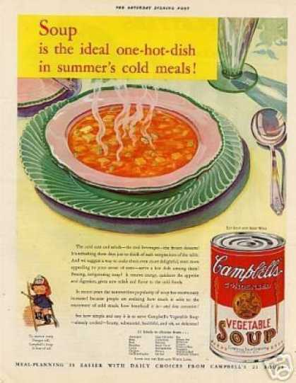 Campbell's Vegetable Soup Color (1932)