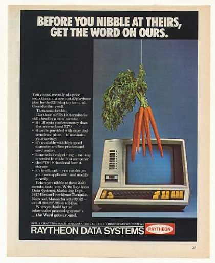Raytheon Data Systems PTS-100 Computer Terminal (1975)