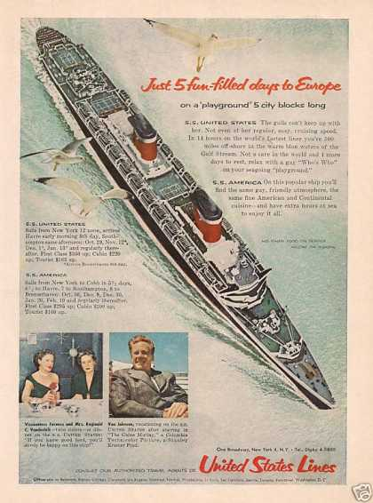 Cruise Ship for Vacation (1954)