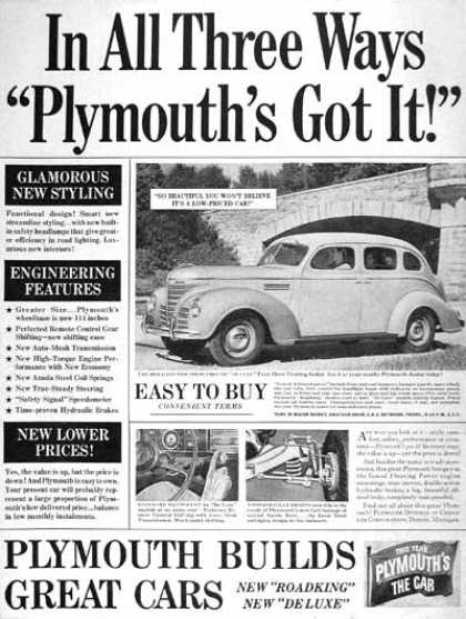 Plymouth Deluxe Touring (1939)
