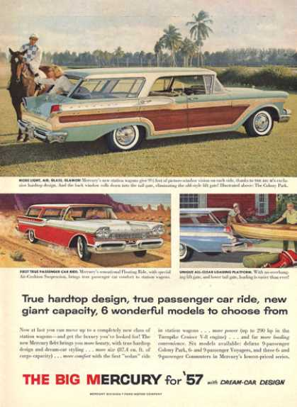 Mercury Colony Park Station Wagon (1957)