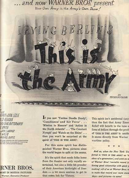 This is the Army (Irving Berlin) (1943)