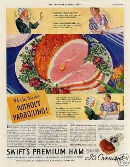 Swift's Premiun Ham Color (1934)