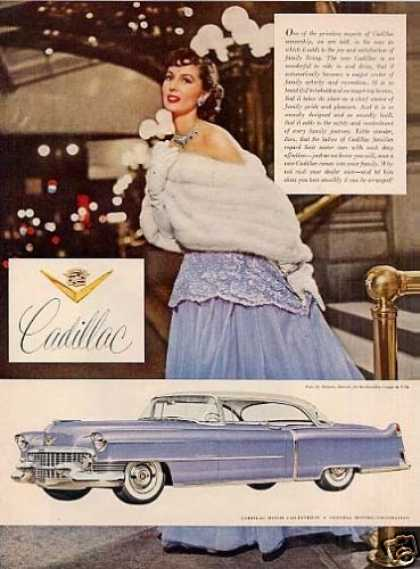 Cadillac Coupe Deville Car (1954)