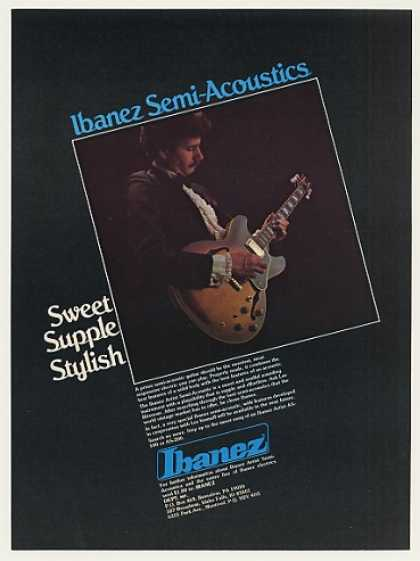 Lee Ritenour Ibanez Artist Semi-Acoustic Guitar (1980)