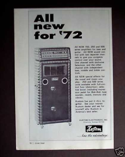 Kustom Amps Guitar Amplifier for '72 (1971)