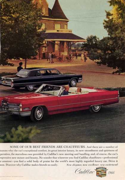 Early 1966 Cadillac Convertable (1965)
