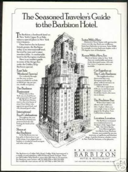 Golden Tulip Barbizon Hotel Restaurant New York (1988)