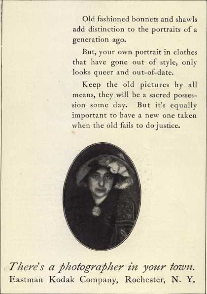 Kodak – There's a photographer in your town (1914)