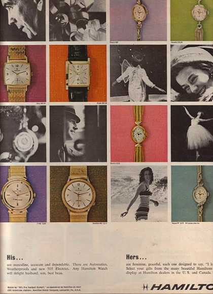 Hamilton's Watches (1963)