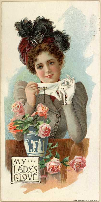 Foster's Hook Glovers, J. Edward Bird & Co.'s Gloves – My Lady's Glove (1899)