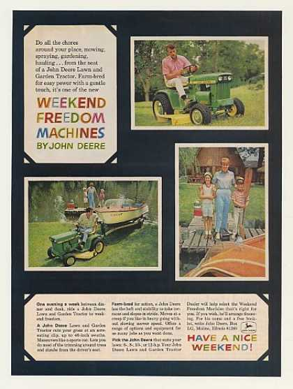 John Deere 112 Lawn and Garden Tractor Photo (1968)