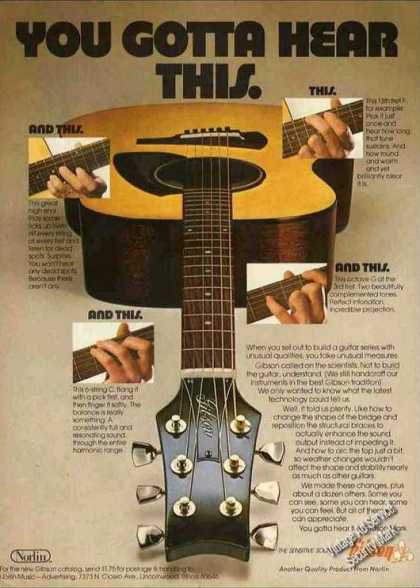 "Gibson Mark Guitar ""You Gotta Hear This"" (1976)"