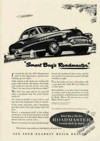"Buick ""Smart Buy's Roadmaster"" Car (1951)"