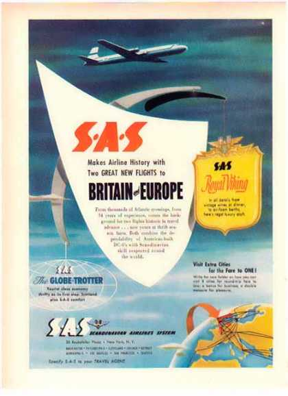 Scandinavian Airlines – SAS Royal Viking (1952)