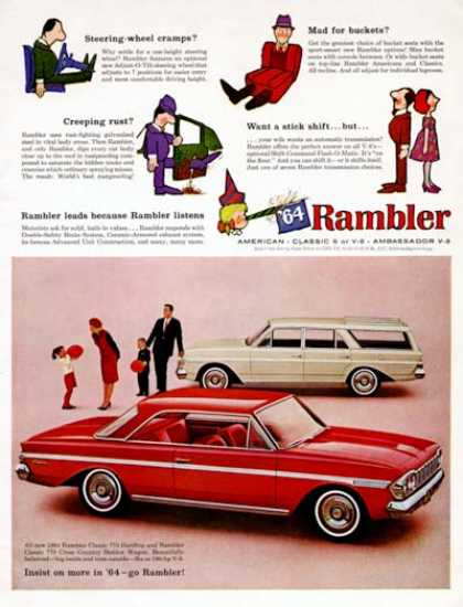 Rambler 770 Coupe & Wagon (1964)