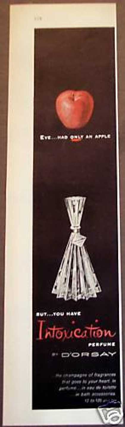 Intoxication Perfume By D'orsay (1956)