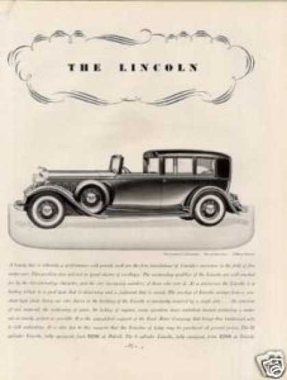 Lincoln V-12 Brunn Brougham (1932)