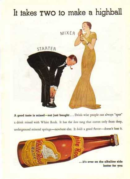 White Rock Bottled Water – Sold (1940)
